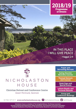 Download the Nicholaston House 2018-19 Programme of Events Brochure