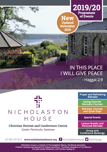 Download the Nicholaston House Programme of Events Brochure